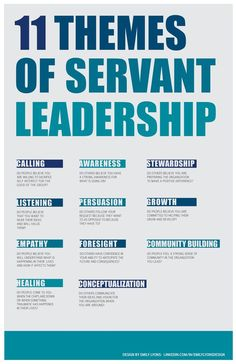 themes of servant leadership. 11 themes of servant leadership. themes of servant leadership. Servant Leadership, Leadership Coaching, Leadership Activities, Life Coaching, Leadership Qualities, Diversity Activities, Nursing Leadership, Change Leadership, Coaching Quotes
