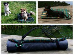 Hund: Decken - funktionale Hundedecke Größe S - grün kariert - ein Designerstück von Perro-Paolo bei DaWanda