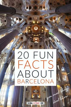 Top 20 fun facts about Barcelona you'll never believe are true! Spain Travel, Travel Europe, Amazing Destinations, Holiday Destinations, Travel Guides, Travel Tips, Barcelona Catalonia, Spain Holidays, Travel Information