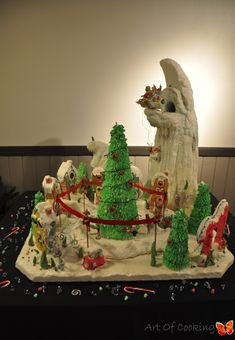 The Grinch who stole Christmas Gingerbread House   Catering and Event Planning Company – Art of Cooking Las Vegas