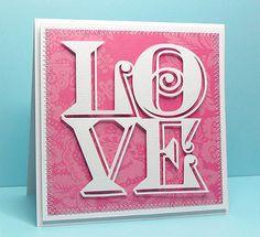 Love Cube. Free cut file.