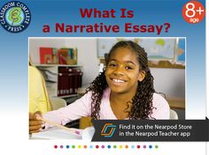 This presentation provides a clear and concise introduction on how to write a narrative essay. Find this and much more for free on the Nearpod Store in the Teacher app www.nearpod.com/