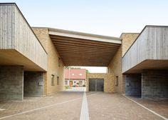 Volt Architecten's Belgian housing scheme is designed to look like a farmstead.