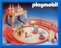 The playmobil circus. My sister and I got it from our grandma...