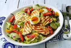 Tasty, Yummy Food, Cobb Salad, Salads, Healthy Recipes, Healthy Food, Chicken, Meat, Cooking