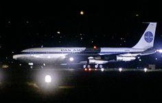 """Pan Am Boeing 707 as featured in """"Bullitt"""" (1968)"""