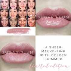 Sugar Plum is a sheer nude mauve lip color with a golden shimmer. LipSense is a long lasting lip color that will last hours when worn with our gloss, and is smudge proof, budge proof, water resistant, and kiss proof! Plum Lipsense, Lipsense Lip Colors, Cool Skin Tone, Colors For Skin Tone, Mauve Lips, Pink Lips, Beauty Bar, Beauty Skin, Beauty Tips