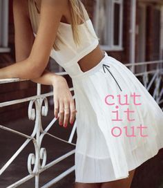 loving unexpected cutouts #trends