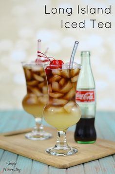 Delicious Long Island Iced Tea - an easy recipe that is delicious and perfect to enjoy this spring and summer.