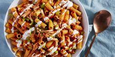 Buffalo Chicken Pasta Salad Delish