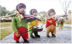 1930s-1940s Schuco, Solisto & Hopsa Monkeys