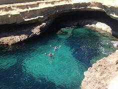 St Peter's Pool, Malta.