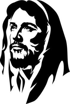 Jesus Drawings, Art Drawings, Arte Do Hip Hop, Jesus Artwork, Angel Drawing, Christian Pictures, Jesus Painting, Jesus Face, Silhouette Art