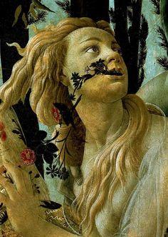 Sandro Botticelli, Primavera, detail, ca 1482