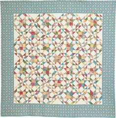 The Summer Memory in McCall's Quilting May/June 2016 Fabric Feature.