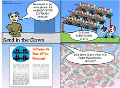 Send in the Clown  http://bjdooleytoons.files.wordpress.com/2014/03/send-in-the-clown.png