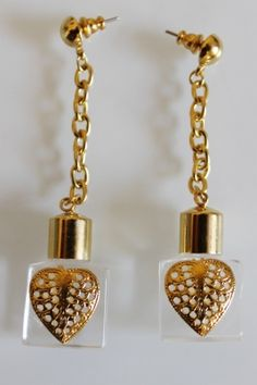 Parfume pendant vintage jewelry