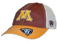 Minnesota Golden Gophers Top of the World Red Offroad Adjust Snapback Hat Cap