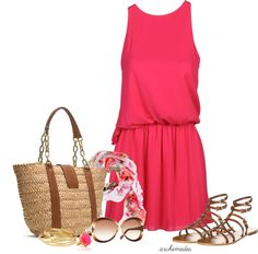 """""""Accessorized for Summer"""" by archimedes16 on Polyvore"""
