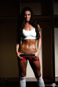 My goal for my obliques and legs ..