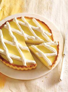 Recette de Ricardo de tarte au citron sans oeufs