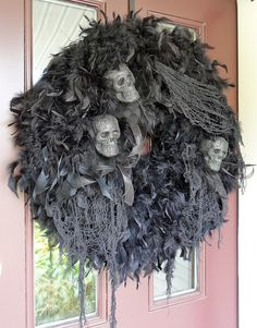 Can't wait to start making Halloween wreaths :)