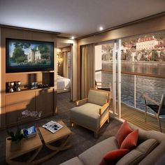 Viking River Cruises - veranda suite Just can't seem to stop thinking about a river cruise.