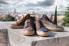 Our favorite MADE IN ITALY sneakers from GALIZIO TORRESI. A must for the winter season.   #ofantobuyfromitaly #madeinitaly #sneakers #galiziotorresi #fashion #style #menswear #mensfashion #cool #instagood