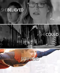 """I can fly! At least I think I can!"" #supergirl 