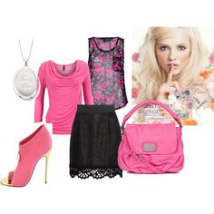 Pinkalicious, created by karena-woods on Polyvore New Wardrobe, Woods, Style Me, Shoe Bag, Polyvore, Stuff To Buy, Shopping, Collection, Design