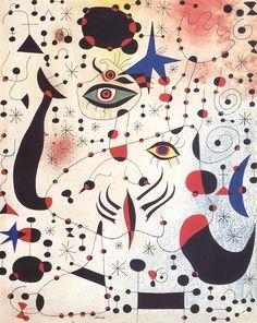 Joan Miro. Seven bir Bayandaki Rakamlar ve Yıldızlar, 1941. Bu tablonun canvas baskısını edinmek ve ayrıntılı bilgi için resme tıklayınız. #canvastar #canvas #tablo #tablolar #baskı #resim #ressamlar #dekorasyon #tuval Constellations, Miro Artist, Abstract Expressionism, Abstract Art, Abstract Landscape, Joan Miro Paintings, Original Paintings, Art Sur Toile, Art Du Monde