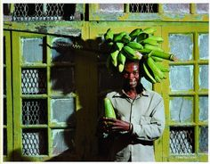 Obie Oberholzer_beyond bagamo 10 banana People Around The World, Around The Worlds, Subtractive Color, My World, South Africa, Banana, African, Culture, Colors