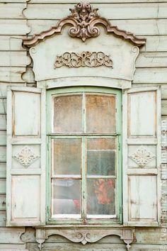 Деревянный наличник Иркутска №10