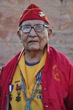 David Patterson (1922 - ) was a Navajo Code Talker during WWII. David was one of the best during WW II in a time not very accepting of diversity