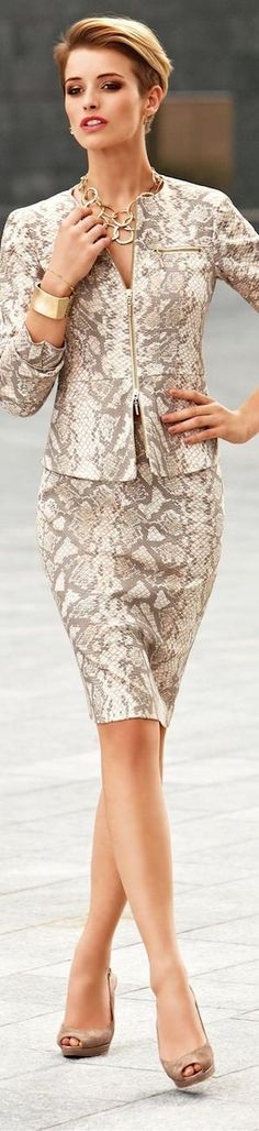 Snakeskin Print by Madeleine..LOOKandLOVEwithLOLO