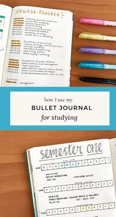 This is SO helpful if you are a college student, or taking any kind of classes -- How to use a Bullet Journal for Studying!