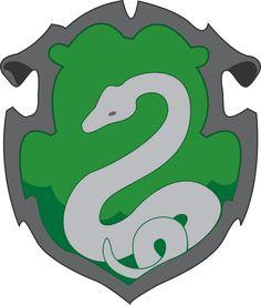Image result for simple slytherin crest