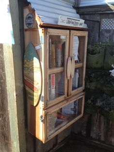 Little Free Library at  845 40th Ave., (behind Freeline Surf shop on 41st), Capitola, CA.