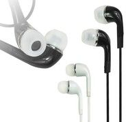 Wish | In-Ear Headset Earphone Headphone + Mic Remote for Samsung Galaxy S II T989 S4 S3 Note 1 2 (Color White/Black)