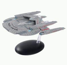 Defiant nx-74205 Mirror Star Trek vaisseau COLLECTION EAGLEMOSS anglais Magazine