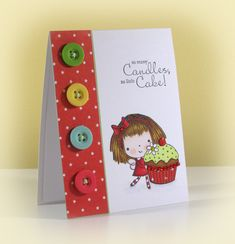 Cupcake Mimi by swldebbie - Cards and Paper Crafts at Splitcoaststampers
