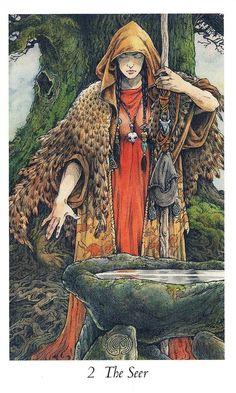 Illustration art by Will Worthington — Wildwood Tarot