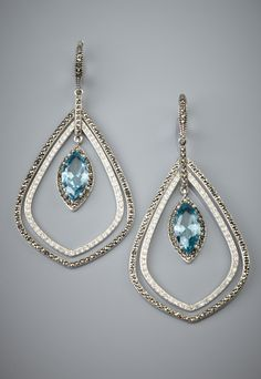 JUDITH JACK  Statement Drop Earrings  $295.00 now $159.99