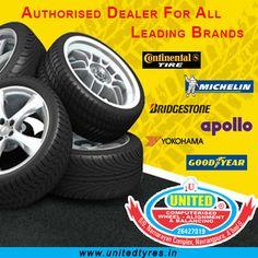 Excellent Service & the greatest range of leading tyre Brands.#Tyres #Bridgestone #GoodYear #apollo #Michelin #Yokohama #JKTyre #ContinentalTire #Ahmedabad