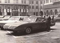 Vintage silver Superbird photo