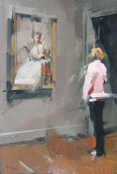 http://www.maggiesiner.com/paintings.php?painting=Lady in Pink  Maggie Siner