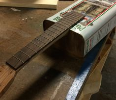 Woodmathsters – Ukuleles (in various states of completion/deconstruction)
