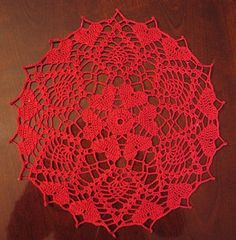 Hearts Doily - free pattern