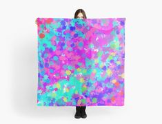 """""""Splatter Effect Pink And Blue"""" Scarves by jaggerstudios Blue Scarves, Chiffon Tops, Iphone Cases, Throw Pillows, Abstract, Pink, Summary, Toss Pillows, Cushions"""