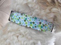 Polka Dot Dog Collar - Green and blue bubbles adjustable USD) by InspiredByMocha Handmade Shop, Handmade Items, Handmade Gifts, Dog Pin, Blue Dog, Go Shopping, Bubbles, Etsy Seller, Polka Dots